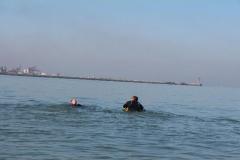 Opale longe cote nage avec palmes (129)