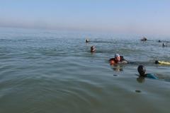 Opale longe cote nage avec palmes (138)