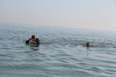 Opale longe cote nage avec palmes (145)