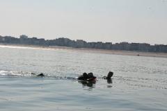 Opale longe cote nage avec palmes (149)