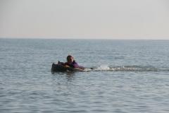 Opale longe cote nage avec palmes (15)