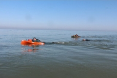 Opale longe cote nage avec palmes (162)