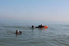 Opale longe cote nage avec palmes (183)