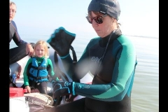 Opale longe cote nage avec palmes (233)