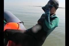 Opale longe cote nage avec palmes (236)