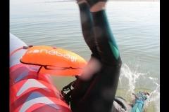 Opale longe cote nage avec palmes (237)