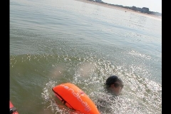 Opale longe cote nage avec palmes (239)