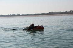 Opale longe cote nage avec palmes (34)