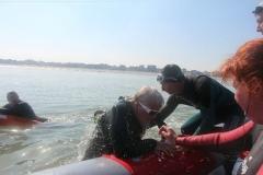 Opale longe cote nage avec palmes (349)