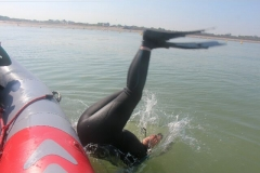 Opale longe cote nage avec palmes (394)