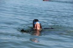 Opale longe cote nage avec palmes (40)