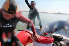 Opale longe cote nage avec palmes (401)