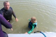 Opale longe cote nage avec palmes (416)