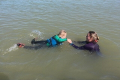 Opale longe cote nage avec palmes (426)