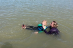 Opale longe cote nage avec palmes (427)