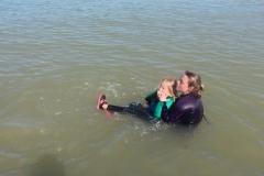 Opale longe cote nage avec palmes (428)