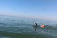 Opale longe cote nage avec palmes (61)