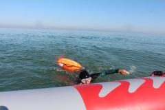 Opale longe cote nage avec palmes (62)