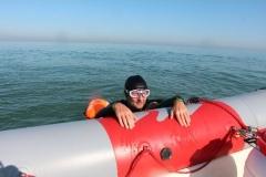 Opale longe cote nage avec palmes (66)