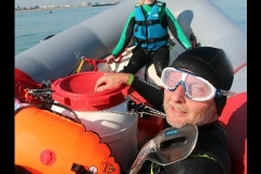 Opale longe cote nage avec palmes (70)