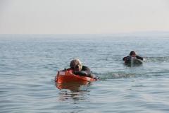 Opale longe cote nage avec palmes (83)