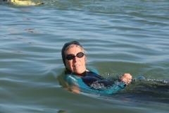 Opale longe cote nage avec palmes (87)