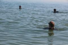 Opale longe cote nage avec palmes (88)