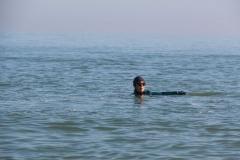 Opale longe cote nage avec palmes (89)
