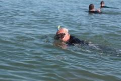 Opale longe cote nage avec palmes (92)