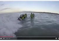 Vidéo – Longe cote dans les vagues 23 Sept. 2015