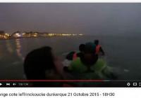 Longe Cote Leffrinckoucke 21 Octobre – Vidéo