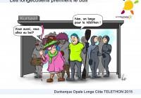 Téléthon 2015 : Les PINGOUINS prennent le bus!
