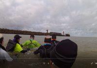 Trail aquatique : L'Estacade, Dunkerque 13km700