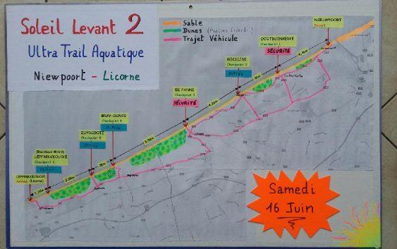 Soleil Levant 2 :  Nieuwpoort/Dunkerque, préparation