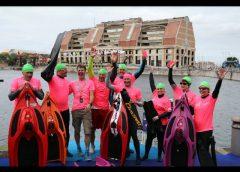 Triathlon Dunkerque 2018, nage.